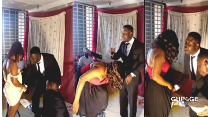 Pastor shaves pubic hairs of church members