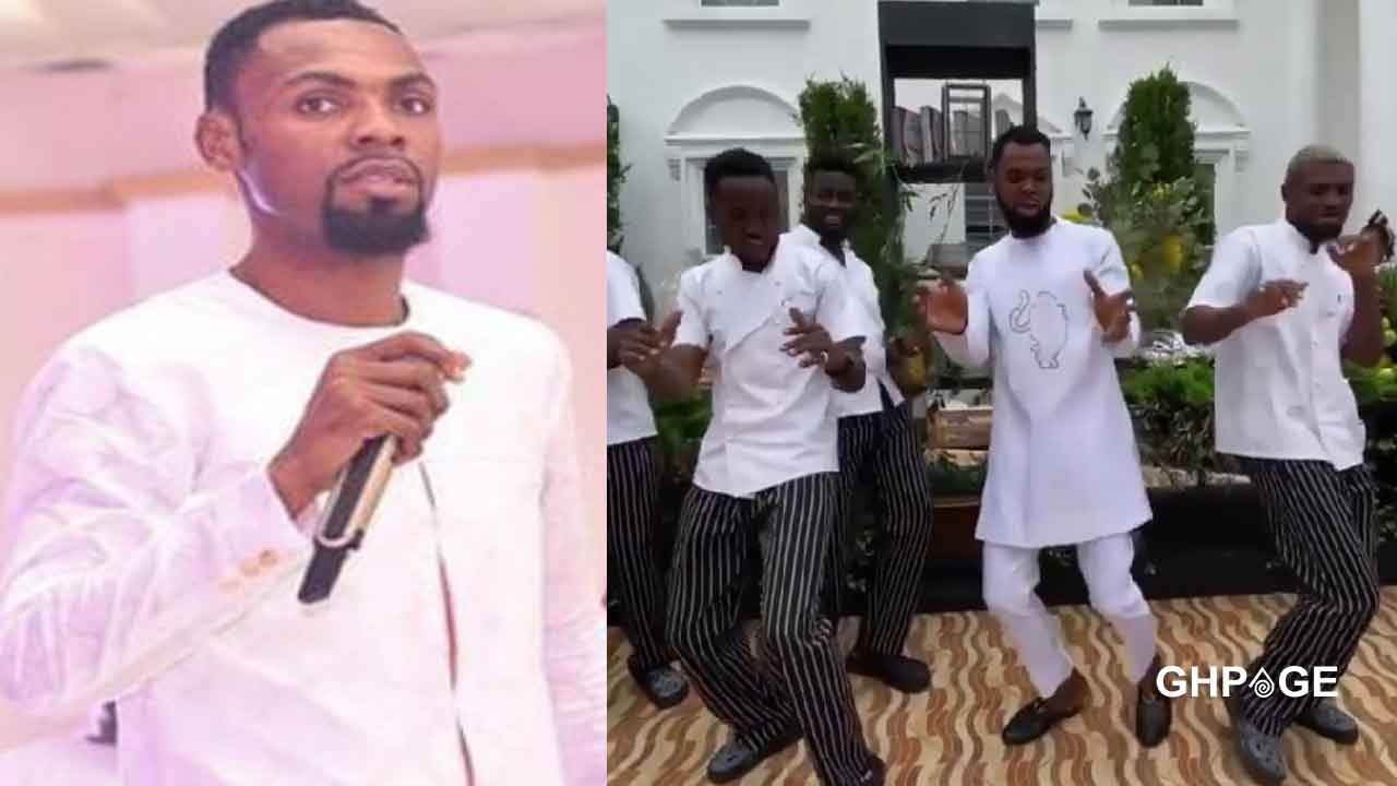 Rev. Obofour breaks the internet with wild dance moves(video)