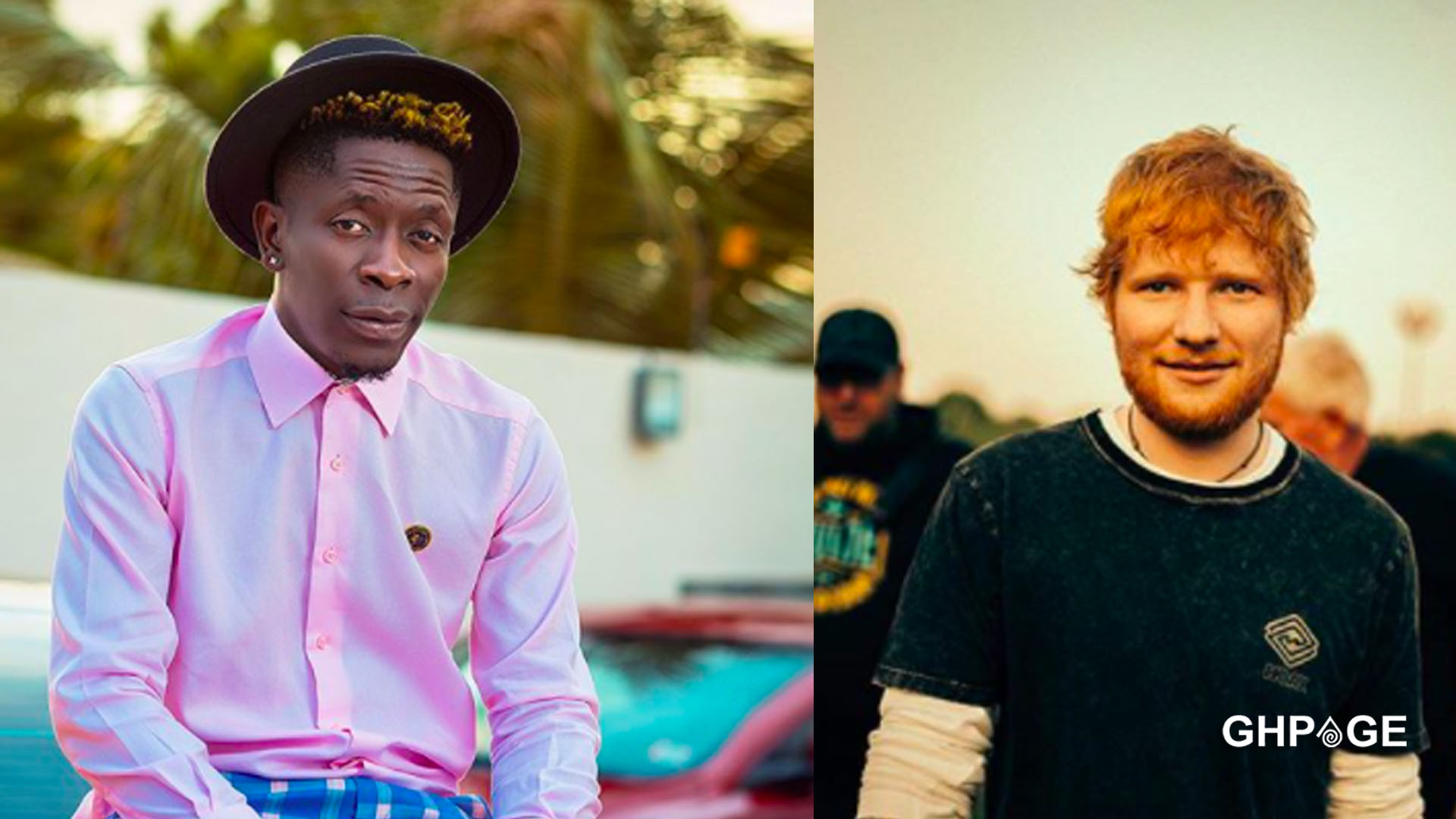 Shatta Wale to collaborate on a new song with Ed Sheeran