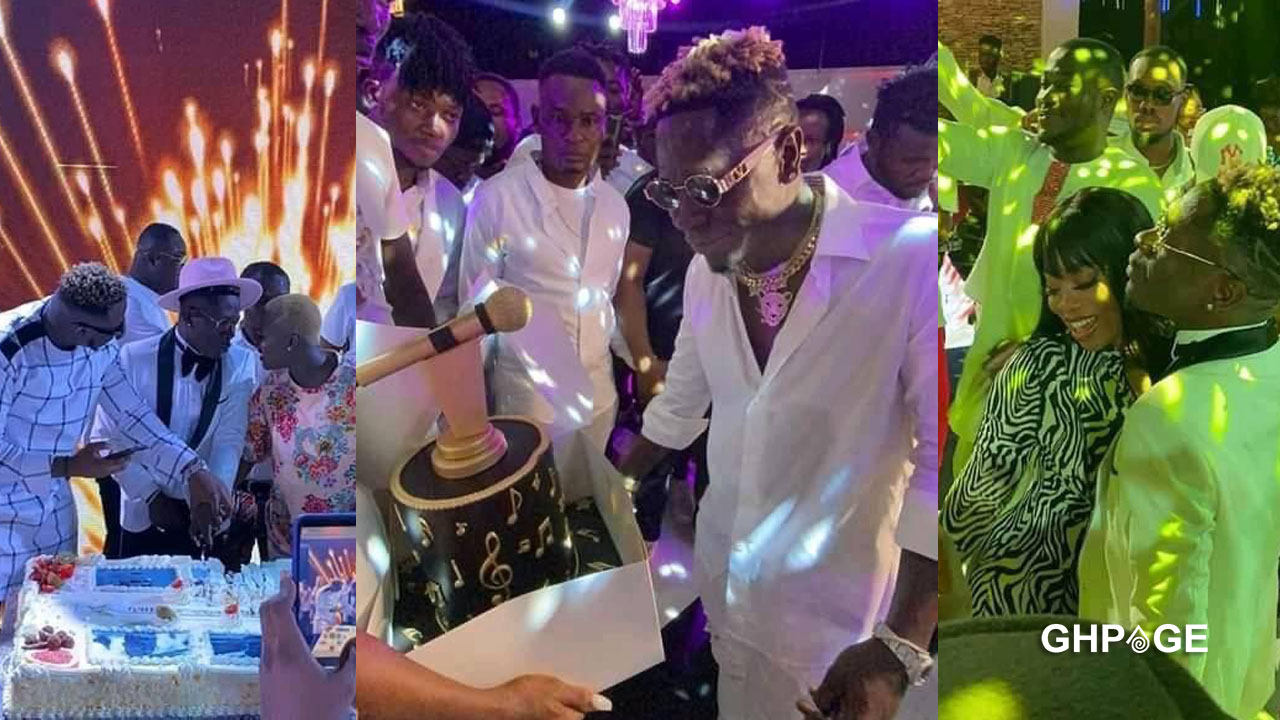 Check out photos from Shatta Wale's surprise birthday party