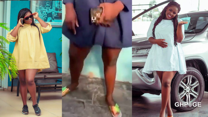 I've nice legs because I haven't bleached - Tracey Boakye