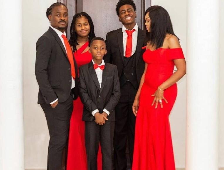derek boateng and family