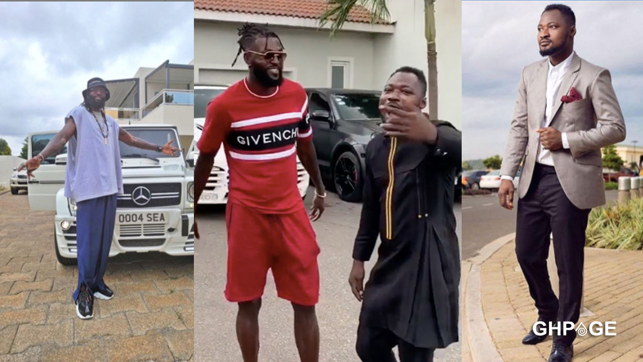 I'll name my son after you – Funny Face tells Adebayor