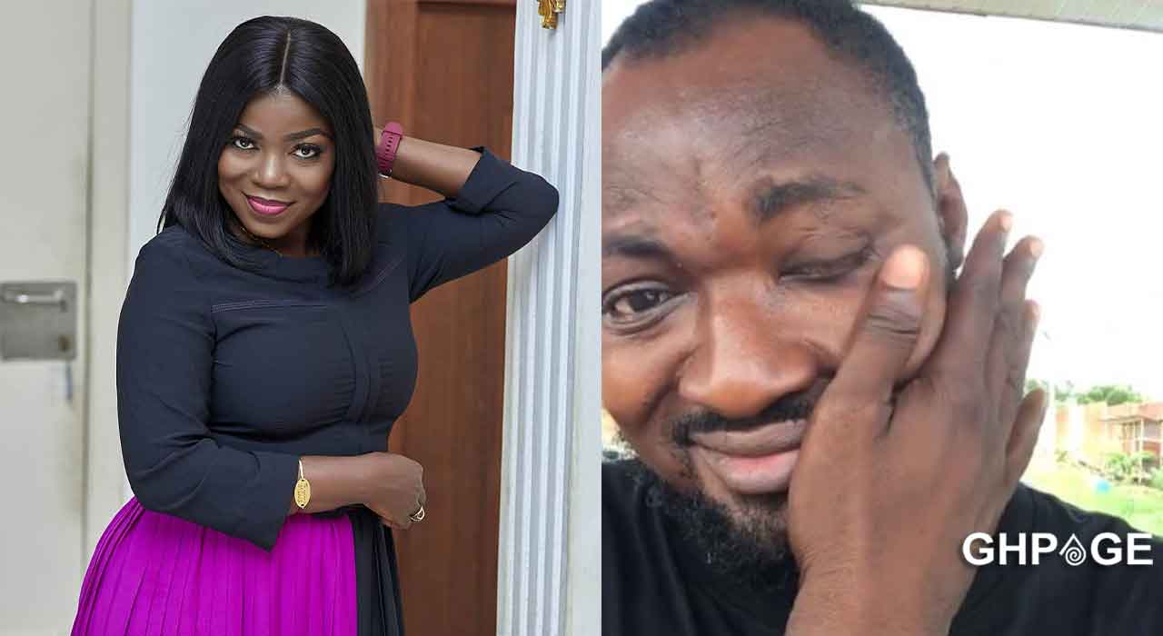 Please pick up your calls; I'm praying for you- Afia Pokua to Funny Face