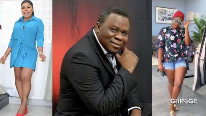 Only foolish people believe Kwaku Oteng is the father of Tracey Boakye's daughter