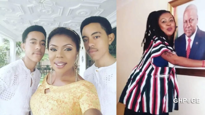 Afia Schwarzenegger exposes NDC after her twins' results got leaked
