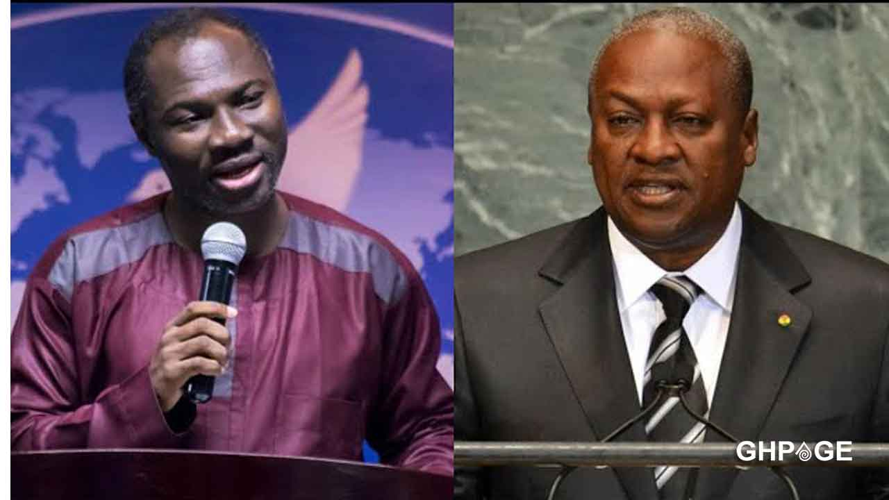 Video of Prophet Badu Kobi prophesying that Mahama would win 2020 elections