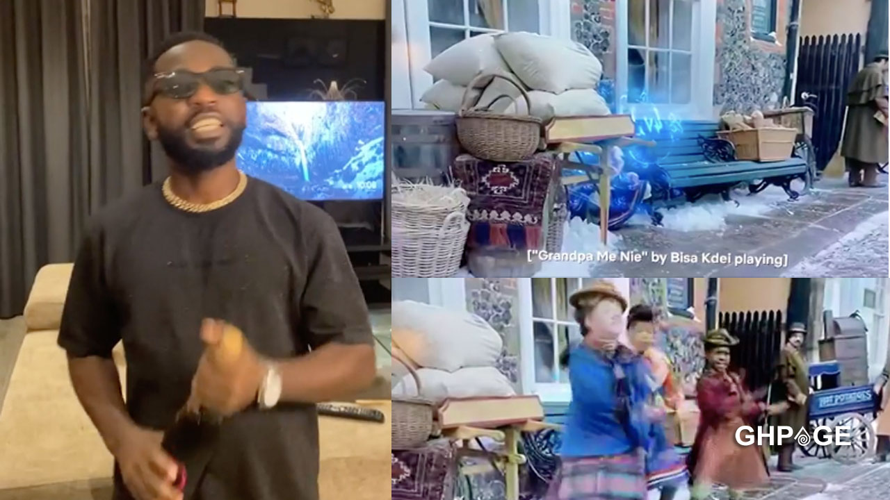 Bisa Kdei's song featured in a Hollywood Christmas movie titled Jingle Jangle(VIDEO)