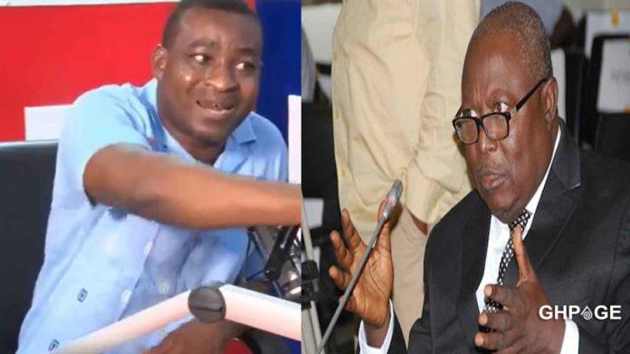Chairman Wontumi and Martin Amidu