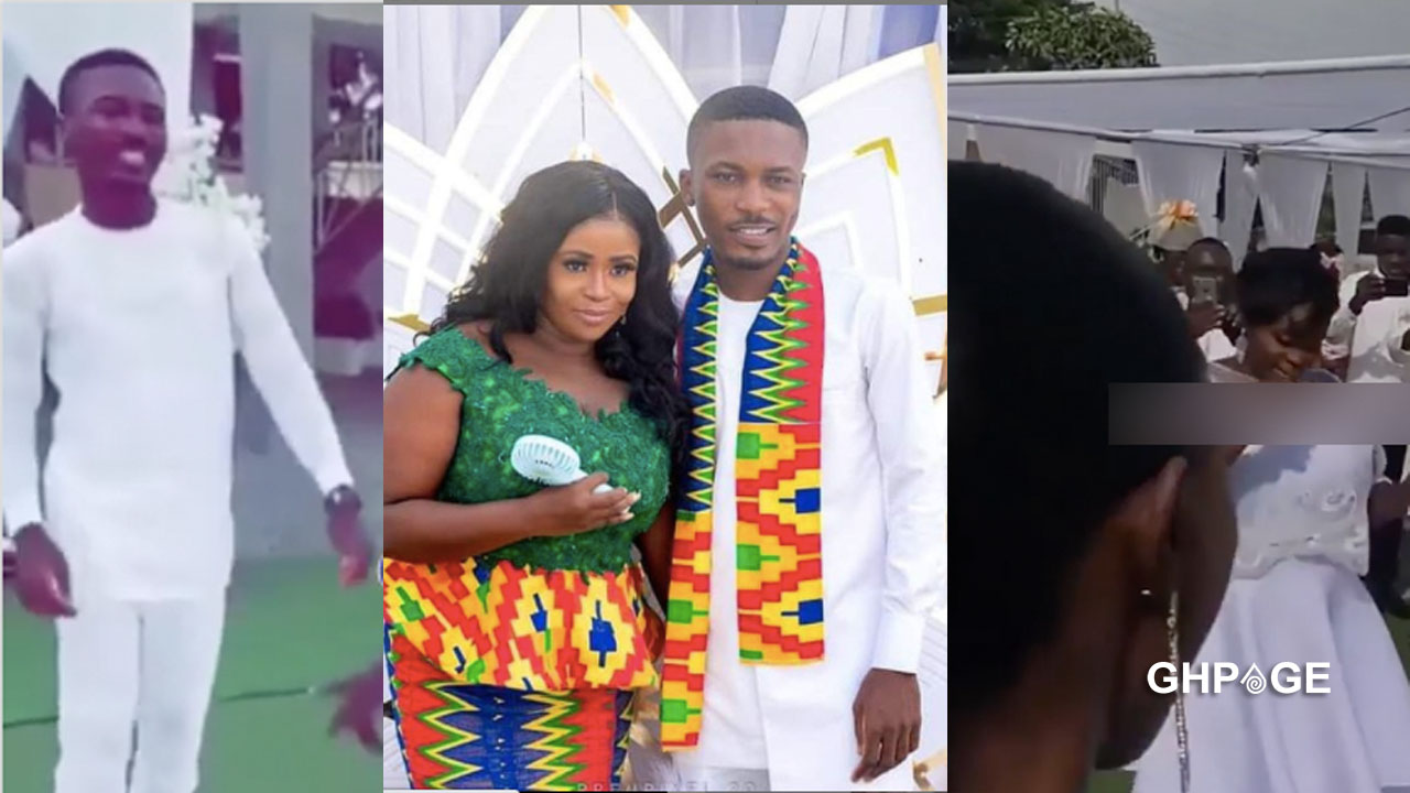 White wedding between Clemento Suarez and his girlfriend held in Accra (VIDEO)