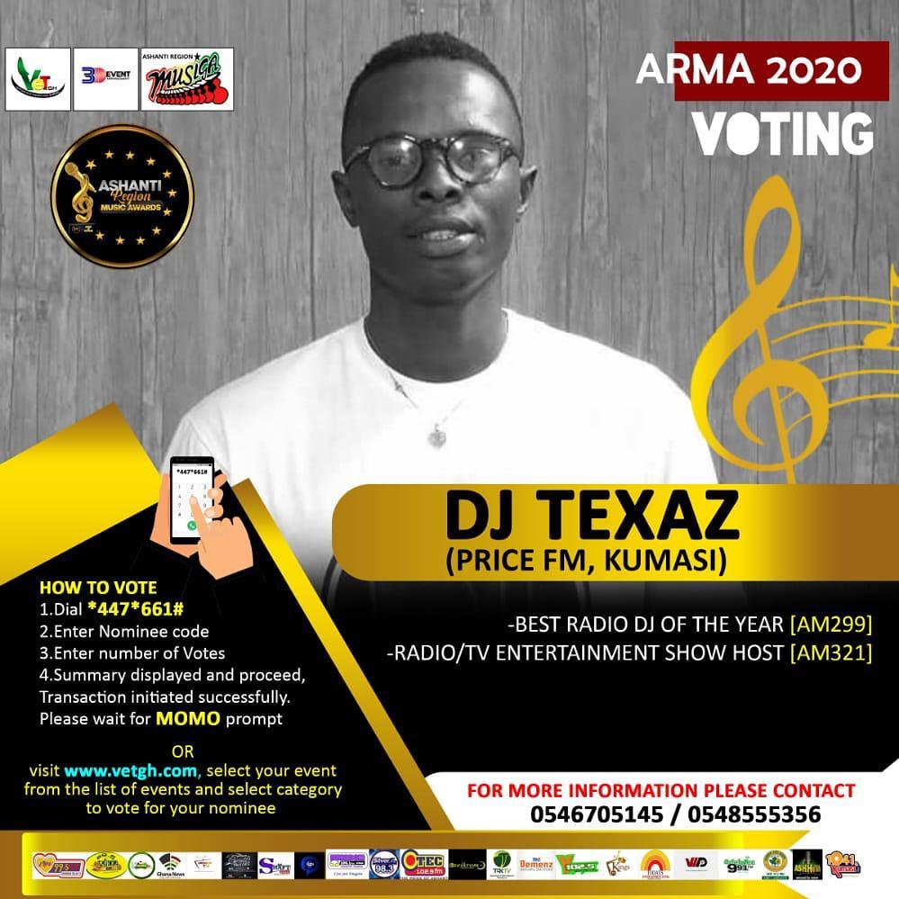 DJ Texas nomination