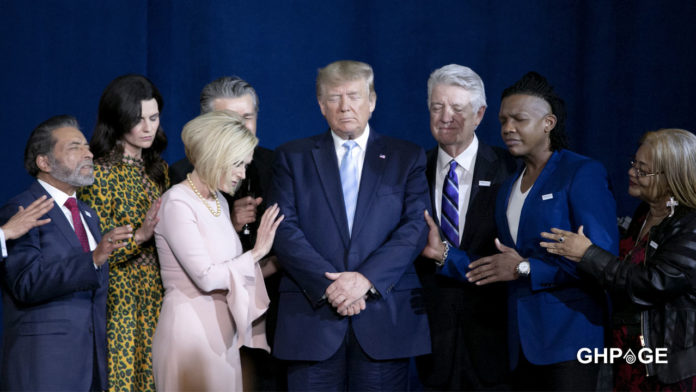 Spiritual mother of Donald Trump calls on Angels from Africa to help them win the elections (VIDEO)