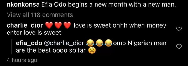 Efia Odo comments
