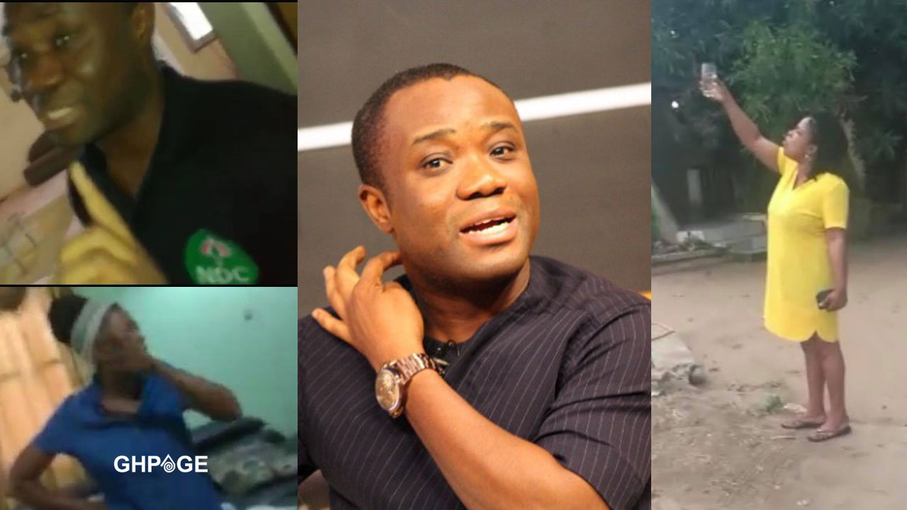 Lady who allegedly caught Felix Ofosu Kwakye sleeping with Dela invoke curses