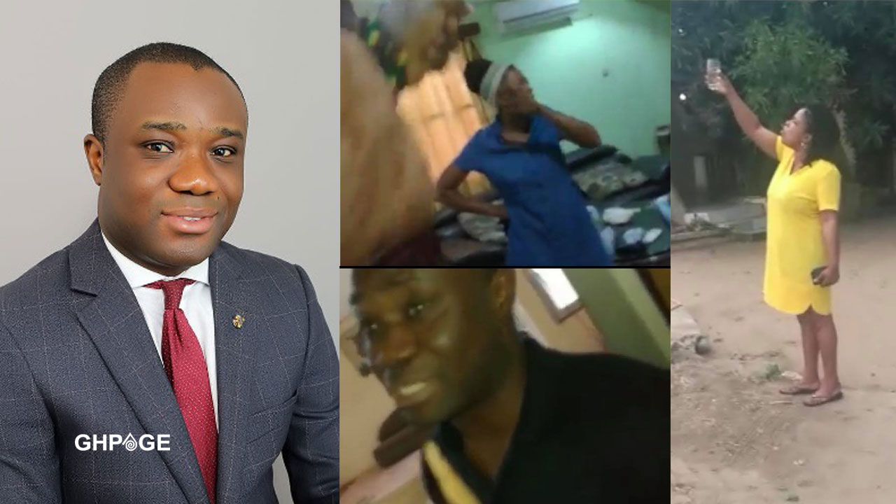 Felix Ofosu Kwakye allegedly caught in a sex scandal with another man's wife