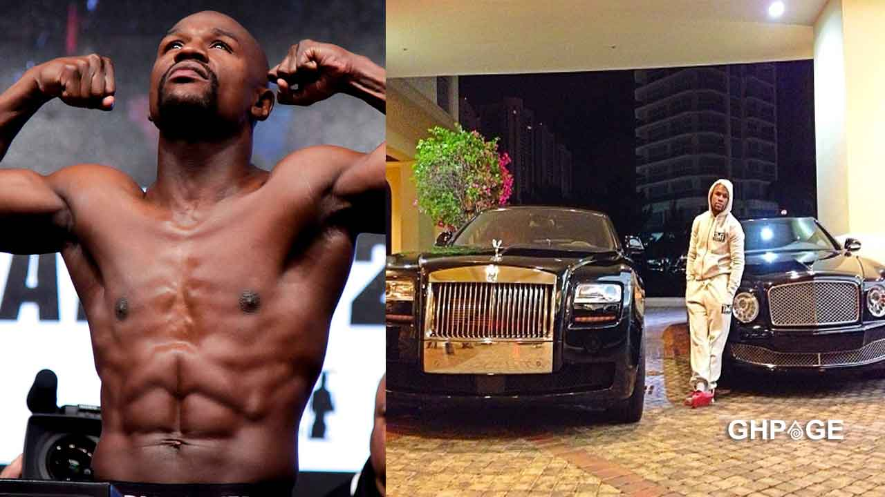 Floyd Mayweather shows his expensive fleet of Rolls Royce, Ferrari cars, others (video)