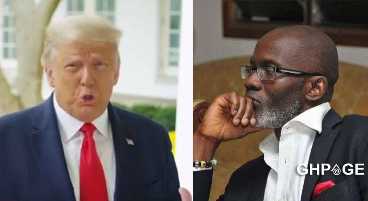 Trump is trailing in the US elections because of his bad leadership- Gabby Okyere