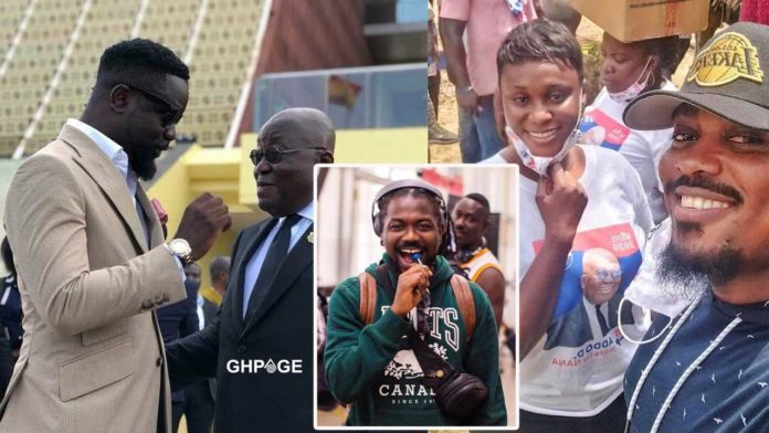 Ghanaian celebrities who have endorsed Nana Addo for second term in 2020 elections