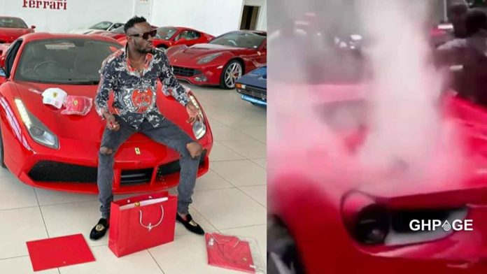 Ginimbi's Ferrari