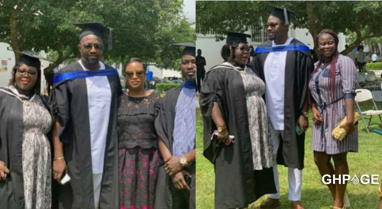 John Dumelo graduates from GIMPA with a degree in Public Administration
