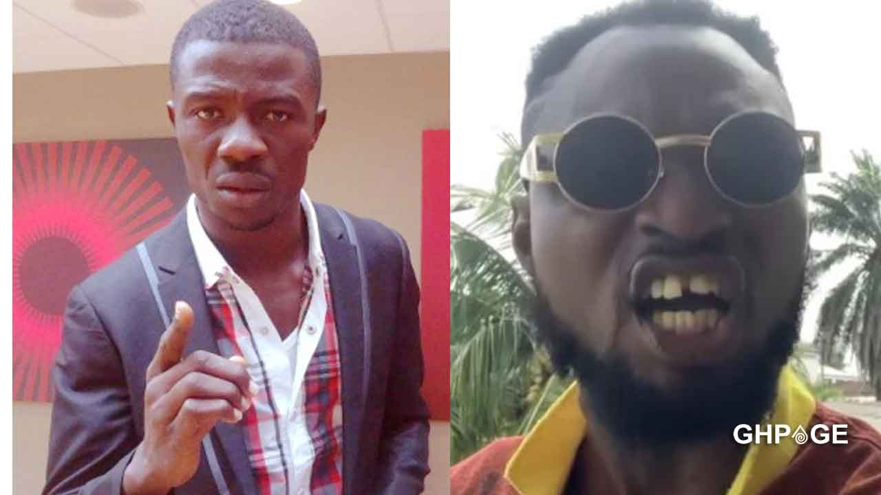 Funny Face reacts after Kwaku Manu's advice to him following his fight with baby mama
