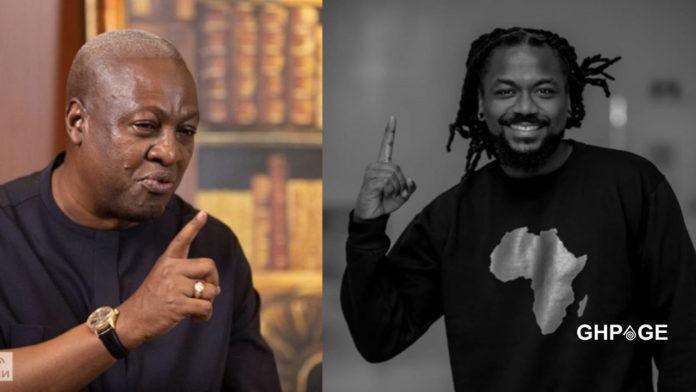 Samini was turned down by NDC when he wanted to do an endorsement song for them