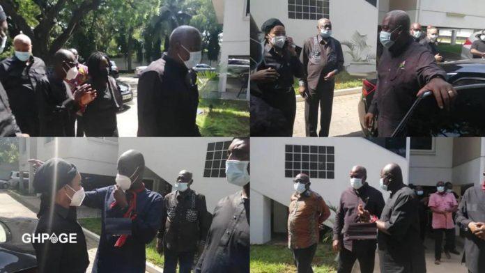 Mahama visits Nana Konadu