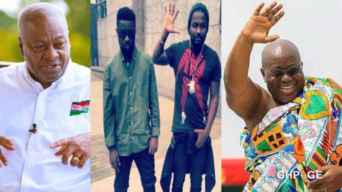 Mahama reacts to celebs endorsing Nana Addo