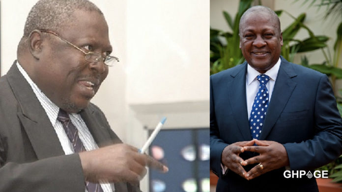 Mahama is government official one - Martin Amidu
