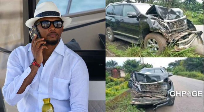 Samuel Eto'o car accident