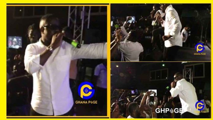Sarkodie and Kuami Eugene performs 'Happy Day'