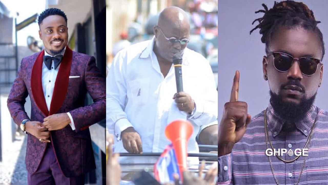 4more4Nana: Samini & Too Sweet Annan campaigns to vote for Akufo-Addo