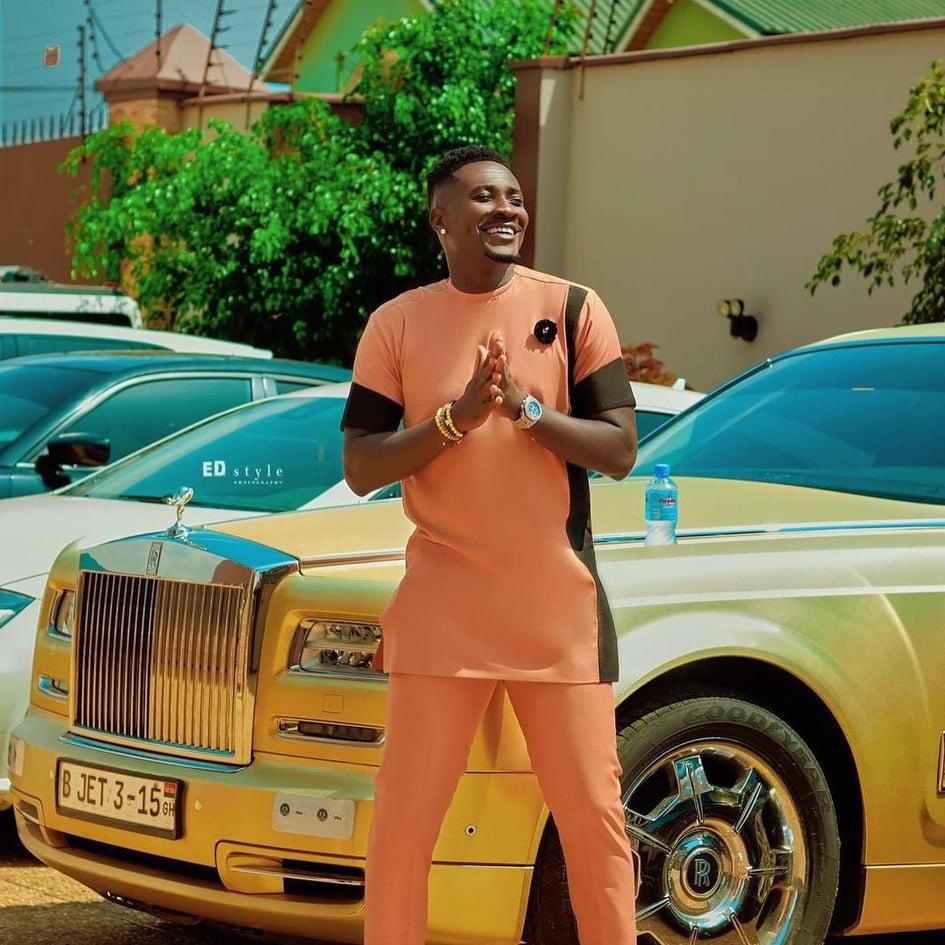 Asamoah Gyan expensive cars