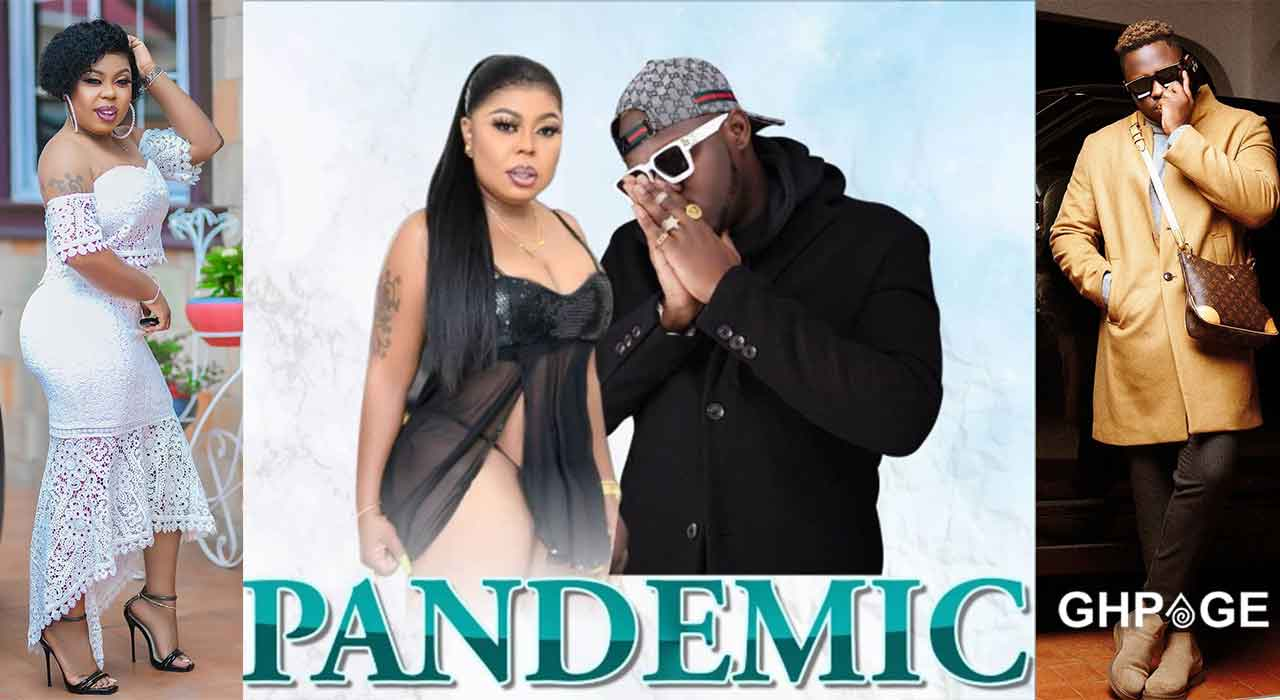 Afia Schwar meets Medikal for the recording of their song called pandemic