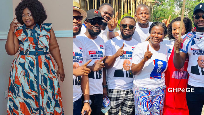 What actors did to John Dumelo shows there is no love in the industry - Christiana Awuni