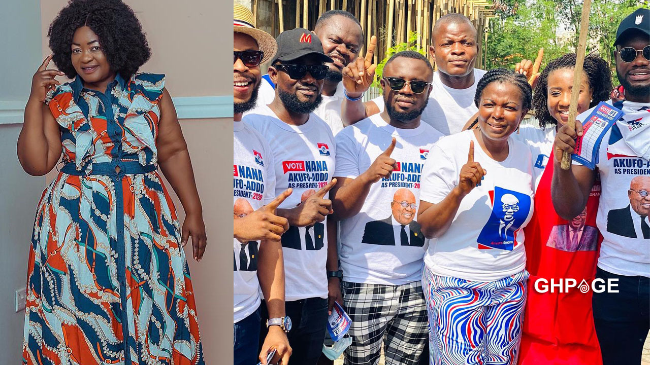 What actors did to John Dumelo shows there is no love in the industry – Christiana Awuni