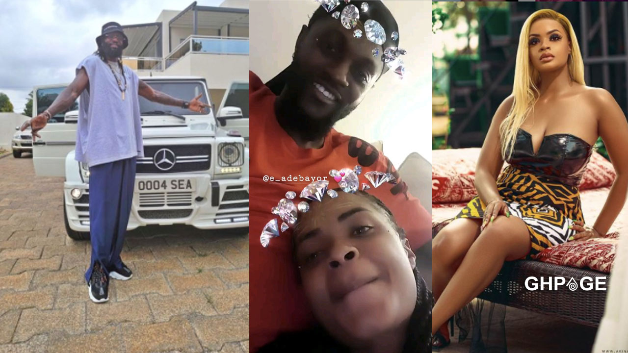Dillish Mathews reacts to Adebayor's comments that she cheated on him with a sugar daddy