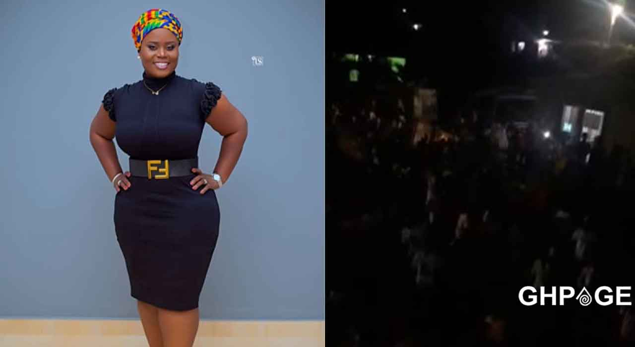 Fantana's mum Dorcas Affo-Toffey's house in Jomoro under attack by the NPP
