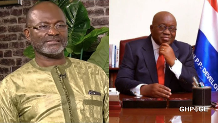 There is doom hovering around Akufo Addo - Kennedy Agyapong