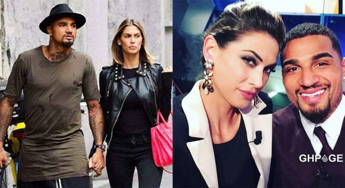 Kevin Prince Boateng marriage