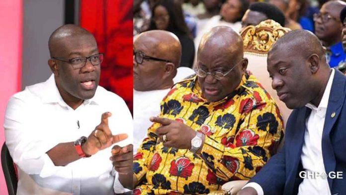 Kojo Oppong Nkrumah and Nana Addo