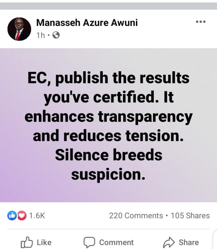 Manaseh post