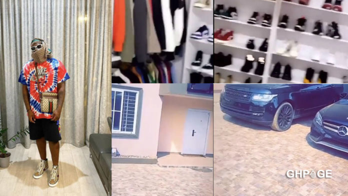 Medikal takes fans on a tour in his plush 7 bedroom mansion (VIDEO)
