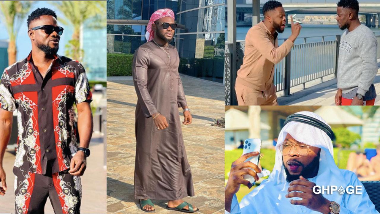 Photo of NPP celebrities chilling in Dubai hit social media