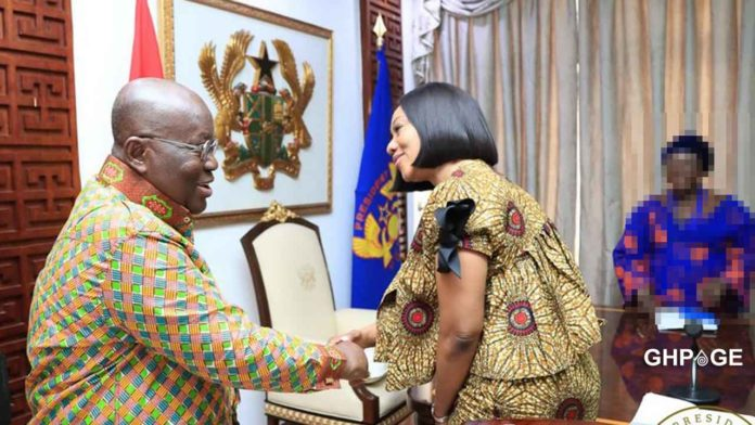 Nana Addo and Jean Mensa