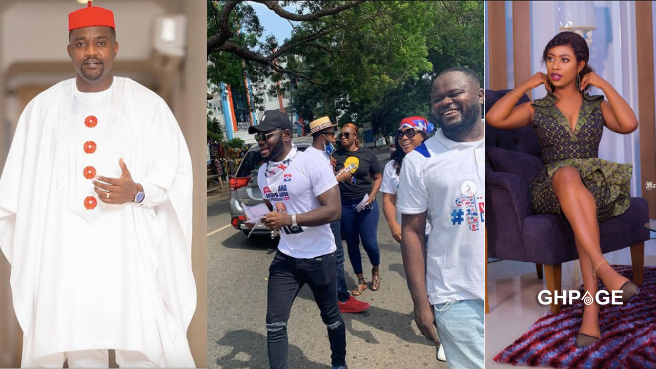 Selly Galley endorses John Dumelo ahead of Monday elections
