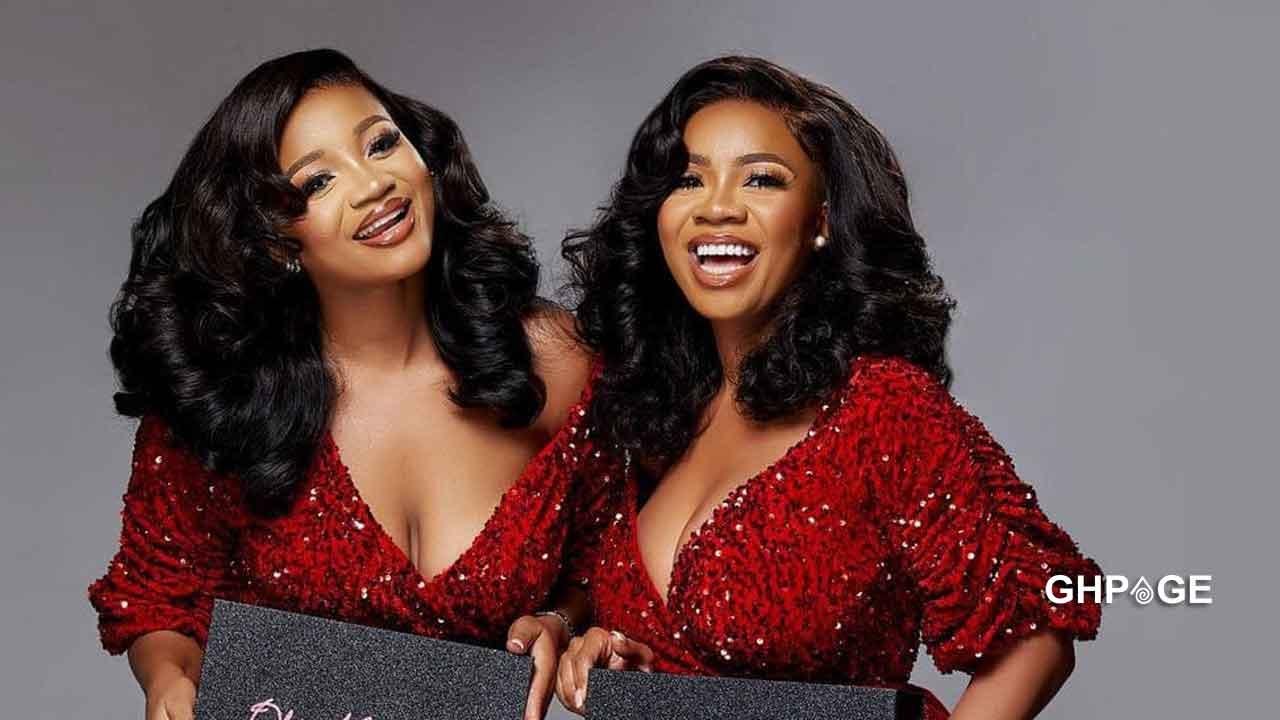 Serwaa Amihere and beautiful lookalike sister drop stunning photos ahead of Christmas