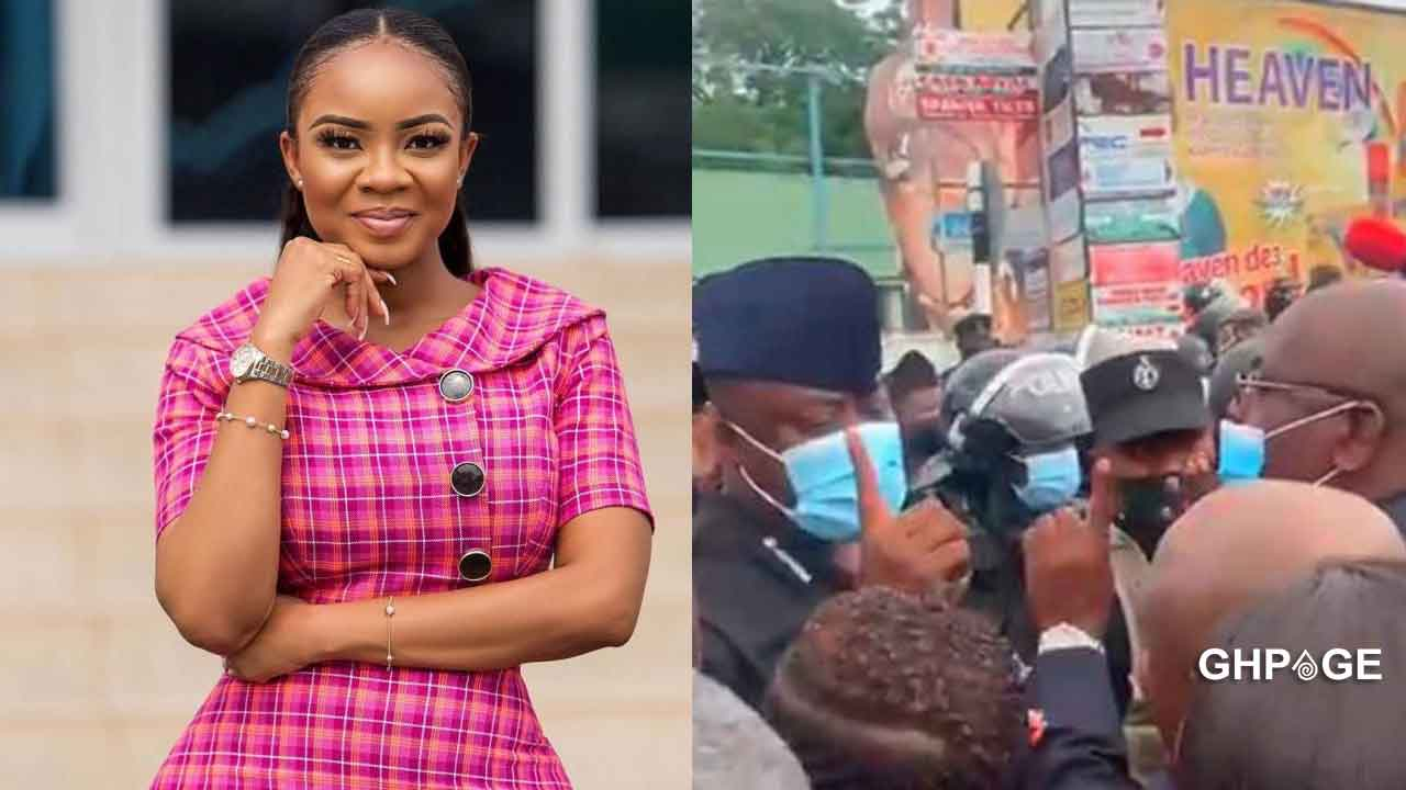 Serwaa Amihere condemns the police for mishandling the NDC MP's at the EC office