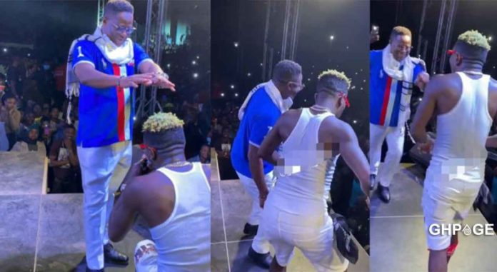Shatta Wale Peter Amewu victory party