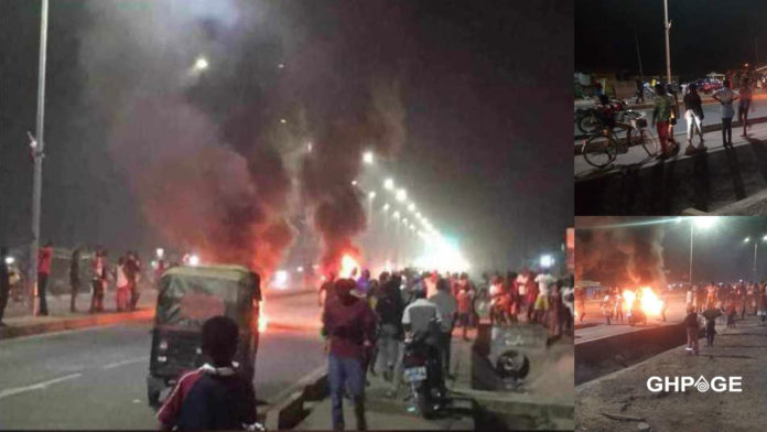 Tamale residents on rampage after Mahama's speech